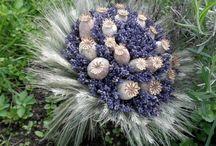 vázané květiny a jiné