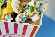 Popcorn / Popcorn is one of our favorite snacks!  You can make it sweet or savory.  Perfect for movie night, parties and more!