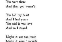 sayings and feelings ❤