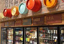 Craft brewery liquor store