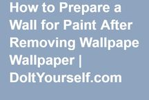 Wallpapering tips and ideas