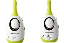 Babyphones / Retrouvez les différents écoute-bébés de Babymoov. Pour garder un oeil et/ou une oreille sur bébé !