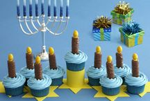 Hanukkah Ideas  / Party and other gift ideas for a Hanukkah celebration. Personalized candy bar wrappers for Hershey's candy bar or bottle labels from www.customfavors.com