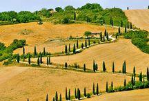 The Beautiful Tuscany!