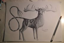 Pen Drawing / Late night sketching.