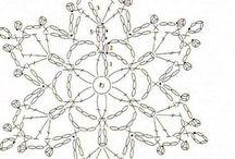 szydełko BN-gwiazdki(wzory)