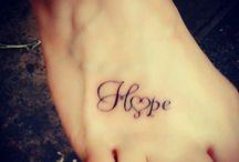 Tattoo's.