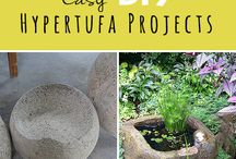 DIY garden flower pots