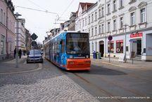 Städtische Verkehrsbetriebe Zwickau - Bahnen / Sie sehen hier eine Auswahl meiner Fotos, mehr davon finden Sie auf meiner Internetseite www.europa-fotografiert.de.