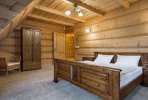 Rezydencja Górska / Duża, ekskluzywna rezydencja drewniana w stylu góralskim jest przytulnie i ze smakiem urządzona. http://www.tatrytop.pl/