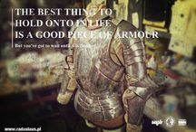Armour smithin' / What I love and what I do.