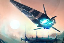Cool space age pics / Cool looking ships, planets, weapons aliens