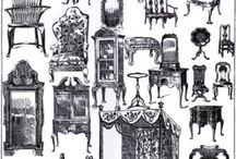 queen annes furniture era / by Katie O'Connell