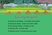 Fun with Idioms / Limba engleza se învață mai ușor într-un mod distractiv. Idiomurile amuzante îi vor ajuta pe copii să deprindă engleza mai ușor.