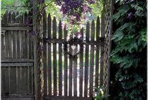 Zäune Gartentüren