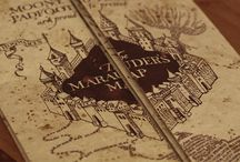 The Marauder's Map / Harry Potter