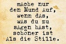 Stille / - #Stille