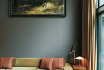 Chic Green Rooms