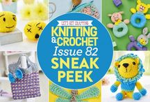 Issue 82 of LGC Knitting & Crochet / Issue 82 of LGC Knitting & Crochet magazine, on sale from 17th June to 22nd July 2016, comes with a beautiful Solstice yarn kit. If you've never tried knitting with sequin yarn before, you're in for a treat with our bonus ball. Alongside five other summery shades, it comes with a special glittery silver ball that is perfect for pretty accessories.