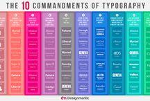 Typography / Graphic design