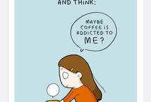 kawa / kawa, ilustracje, śmieszne obrazki, przepisy, grafiki, plakaty