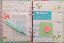 Agendas y libretas cute :3 / Me encantan las cosas cute para escritorio <3