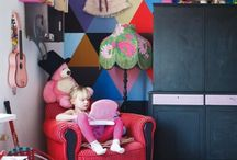 cool kids room / Lots of ideas for creating impact with colour, pattern and vintage details to a child's room. Feed your child's imagination by giving them a stimulating environment and get creative. / by Moozle