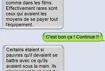 SMS drole