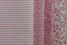Colours and fabrics..