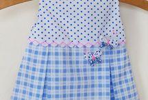 Vestidos para niña / vestiditos, moldes y tutoriales para bebes