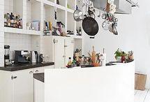 Bord Mirjam en Peter / Open keuken