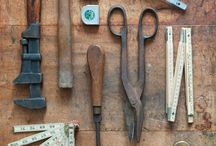 Tools / tools, tools of the trade, workshop, mending, fixing, making, designing, crafting