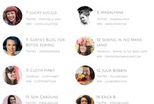 20 Most Influential Seamstresses on the Planet! / If you're a Funkifabrics fan, you'll know how much we love sewing blogs! We're often collaborating with members of the sewing community and enjoy sitting down to have a read of the best sewing blogs out there every now and then.