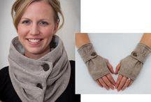 Szaliki rękawiczki