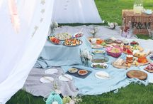 Picnic summer party