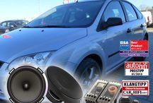 Fahrzeugspezifische Lautsprecher / Hier findest Du Fahrzeugspezifische Lautsprecher die in die originalen Einbauplätze Deines Fahrzeuges passen, sie verschwinden unter der Verkleidung und verbessern den Sound drastisch.