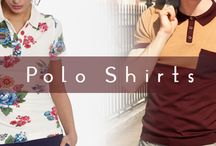 Polo Shirts / For comfort trendy, Polo Shirts can't be beat for all fashion. Best selection for women's Polo Shirts and Men's Polo Shirts.