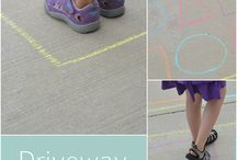 Play outside / Perfect for shape recognition, patterns, matching, so many things!