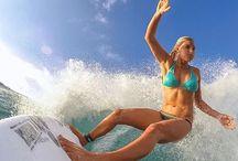 Surf manouvres