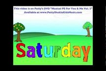 """Days of the Week Song for Children, Toddlers and Kids. / Learn the days of the week and sing along! """"You can have Sunday, Monday, Tuesday, Wednesday, Thursday, Friday but Saturday is my day to play! Play! Play! Play! Everyone LOVES Saturdays!  Learn the days of the week. http://www.youtube.com/watch?v=773TW8TYfvs Buy now: http://www.Pattyshuklakidsmusic.com/musicshop"""