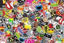 stickers
