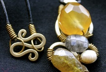 My handmade jewellery that's for sale  / Handmade jewellery made with gem Stones collected from Nepal and India