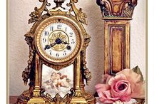 As Time Goes By / French Clocks / by Ivy AndElephants