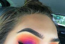 Bright Eyeshadow inspiration