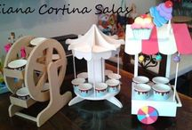 soportes para cup cakes