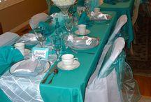 decoración cena matrimonio