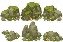 Good Looking Fantasy Rocks