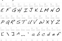 Handwriting Font / Fonts