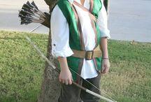 Disfraz cazador