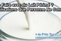 lait perimé